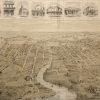 Figure 10 Birdseye View of Parramatta [Mitchell Library, SLNSW: ML_XV1B_Parr_01]]