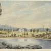 Figure 7 - Joseph Lycett's depiction of Ultimo in 1820. [Mitchell Library, SLNSW: ML PX*D 41]