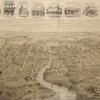 Figure 10 Birdseye View of Parramatta [Mitchell Library, SLNSW: ML_XV1B_Parr_01]]
